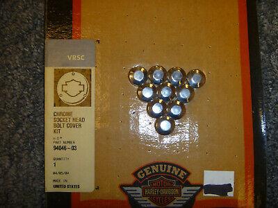 2002- Harley Davidson VRSC M6 Metric Socket Head Bolt Cover Kit 94046-03 OEM New