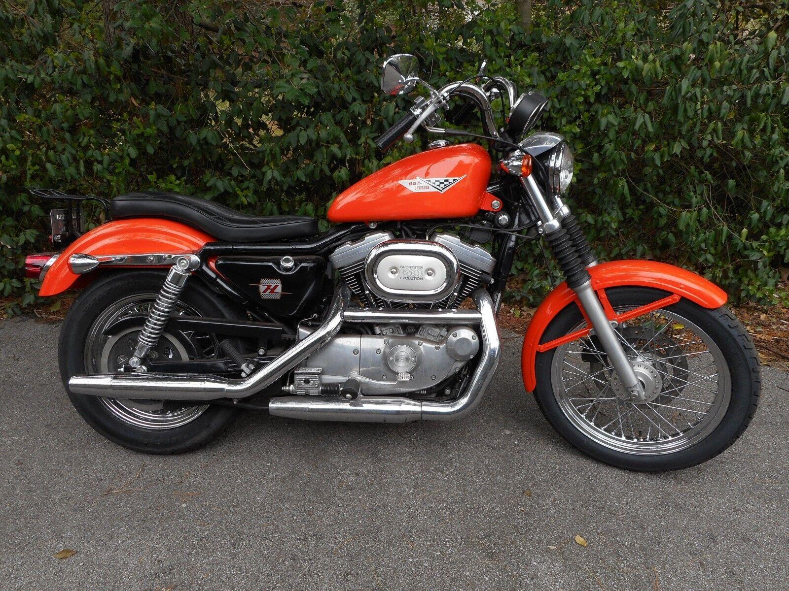 2002 Harley Davidson Sportster 1200 - Used Harley-davidson ...