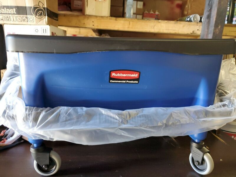 Rubbermaid Microfiber Press Wring Bucket Q930  Commercial Mop