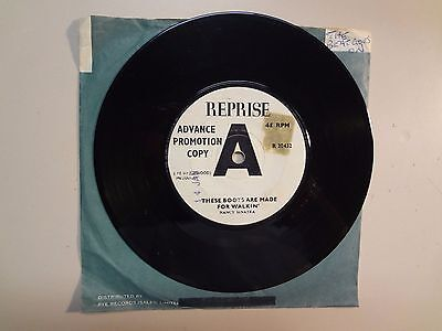 Nancy Sinatra These Boots Are Made For Walkin  U K  7  1966 Reprise R 20432 Demo