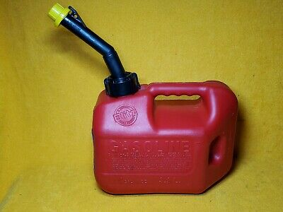 Blitz 50805 1 Gallon Ventless Plastic Gas Can W Self Venting Spout