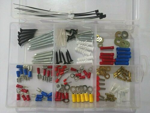 Mini pack Assorted Crimp Spade Terminal Insulated Electrical Wire Connector OPP