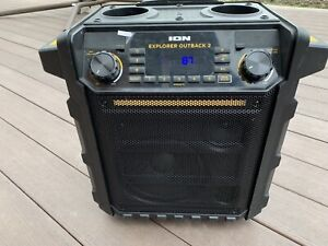 ION Outback 2 Explorer speaker with Bluetooth and radio
