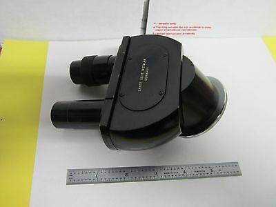 Microscope Part Leitz Wetzlar Head Ortholux 1.25x Optics As Is Binh8-19