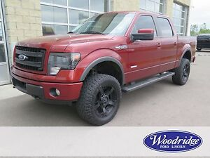 2014 Ford F-150 FX4 3.5L V6 ECO, 4 INCH BDS LIFT, CUSTOM TIRE...