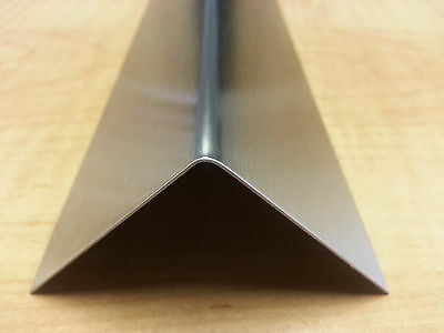 20ga Stainless Steel Fabricated Angle T-304 12 X 12 X 48