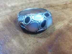 Pearl and black onix ring Maitland Maitland Area Preview