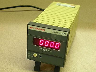 Edwards Vacuum Pump High Pressure Readout 1505 Lab Instrument Gauge Controller