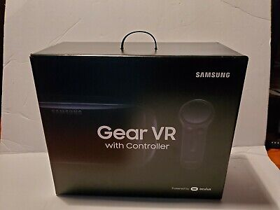 Samsung Gear VR SM-R324 (2017) with Controller and BONUS Hard Case.