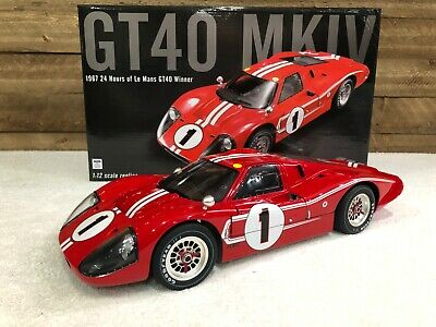 ACME 1:12 MASTERPIECE COLLECTION 1967 FORD GT40 MARK IV #1 FOYT/ GURNEY M1201002