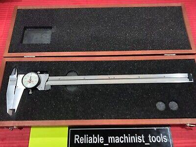 American Made Starrett 12 Inch Dial Caliper Model 120 Machinist Tools P525