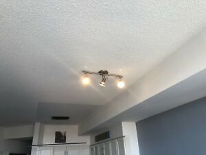 Two light fixtures