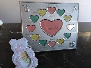 Baby 12month photo frames