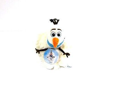"Mini Travel Hideaway Pets Olaf Snow Man Disney Frozen Plush Jay at Play 5"" NEW"