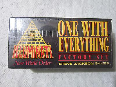Factory Set   Sealed    Illuminati Inwo Card Game   New World Order   Nuke