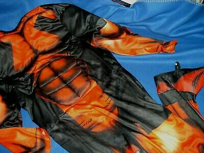Deadpool Marvel Muscle Costume Jumpsuit - Rubies SIze Men's Standard