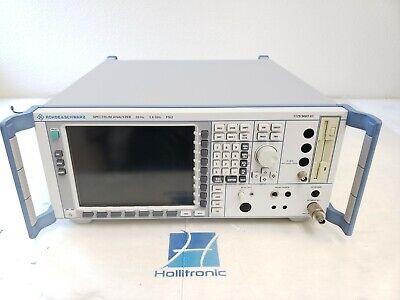 Rohde Schwarz Spectrum Analyzer Fsu 1129.9003.03