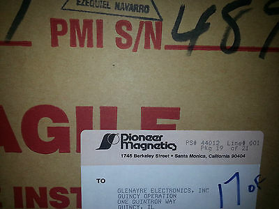 Pioneer Magnetics Glenayre Power Supply Ac To Dc 26v 100 Amp