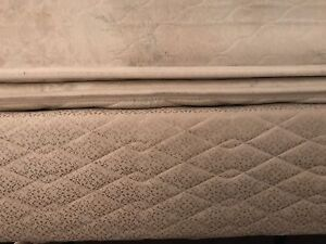Thick Queen Mattress and Box