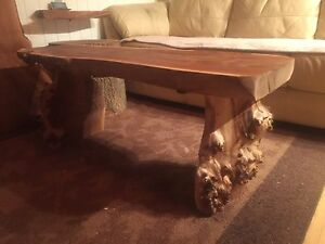 Custom natural coffee tables