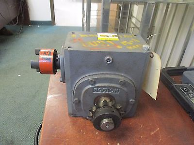 Boston Gear Reducer Wshaft Attachments 726-10-g Ratio 101 3.63 Hp In Used