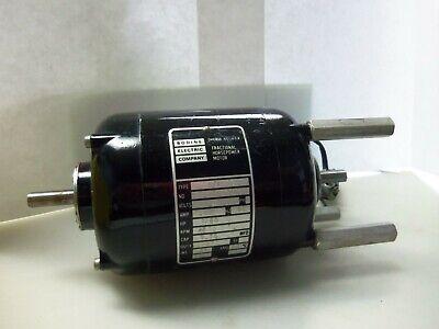 Nice Bodine Electric Mci-13 160 Hp 1500 Rpm .26 Amps Torque Motor
