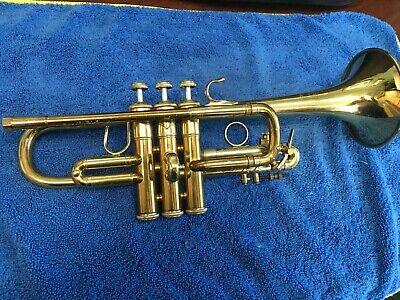 Bach Stadivarius 304 Eb trumpet, Laquer, Good condition