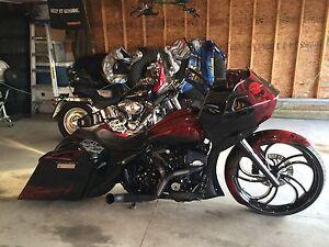 """Full Custom 26"""" Wheel Harley Davidson Bagger!"""
