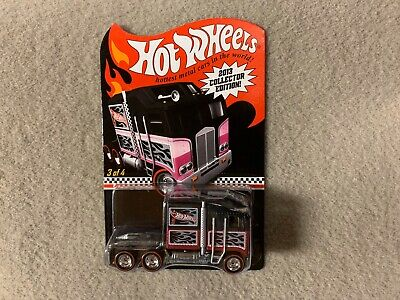 2013 Hot Wheels Collector Edition Thunder Roller Semi Truck K-Mart