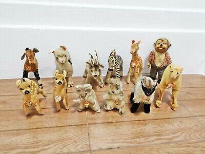 Vintage stuffed Animal Steiff Lot