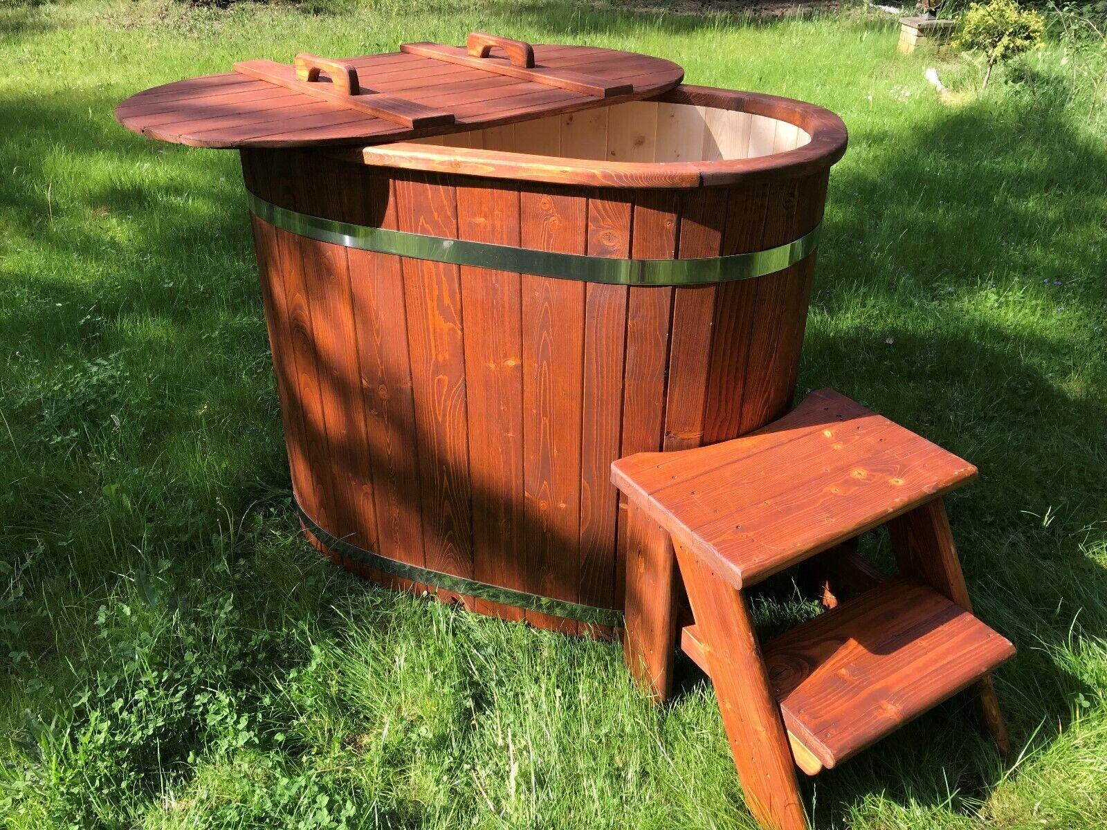 Badefass Badetonne Badebottich Tauchbecken Badezuber Pool Outdoor Sauna
