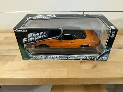 Fast and Furious Darden's 1970 Dodge Challenger R/T Orange Greenlight 1:18 Scale