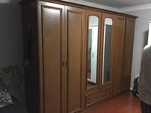 An old large Italian timber wardrobe for sale. West Ryde Ryde Area Preview