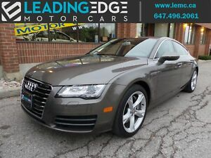 2012 Audi A7 Premium Plus Drive Select, Blind Spot Monitors