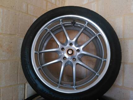 Work Meister S2R 5x100 17x8 RE003
