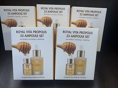 [USA] Dr.Ceuracle Royal Vita Propolis 33 Ampoule SET 1oz+0.5oz Antioxidant Care 0.5 Ounce Set