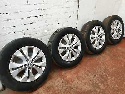 "HONDA CRV MK4 2012-2018 17"" INCH ALLOY WHEELS AND TYRES 225/65/R17"