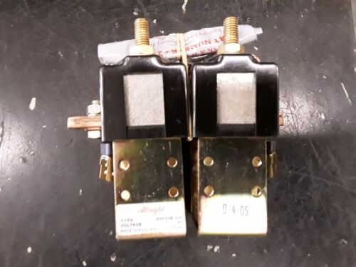 Curtis Albright Sw182B-276 48V Contactor w/ 2180-190 Hardware Kit NOS