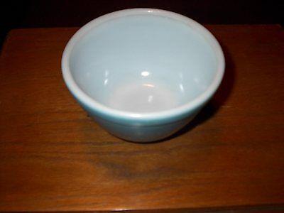 Vintage Pyrex Blue Glass Bowl - Blue Pyrex Glass