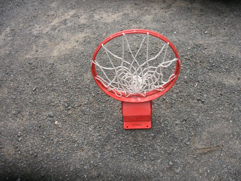 Heavy Duty Spring Loaded Snapback Basketball Rim SlammerPICK UP ONLY NO MAILING