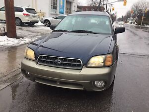 2003 Subaru Outback AWD Safetied and E-tested!