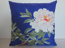 Beautiful Peony Cushion Cover in Iris Blue/Purple *Cearance!! Padbury Joondalup Area Preview
