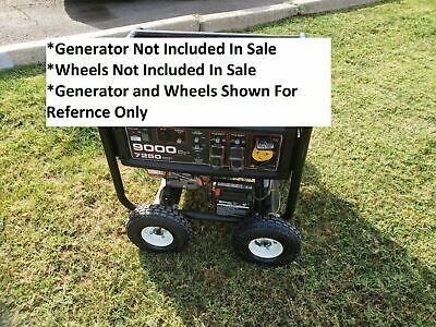 Wheel Kit For Predator 9000 8750 6500 Watt Generator - No Wheels -no Generator