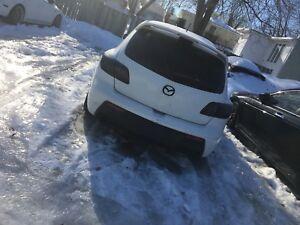 Mazdaspeed3 completement rebuilt à un prix ridicule!