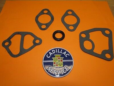 1963 1964 1965 1966 1967 CADILLAC WATER PUMP CROSS OVER PIPE GASKET SET USA MADE