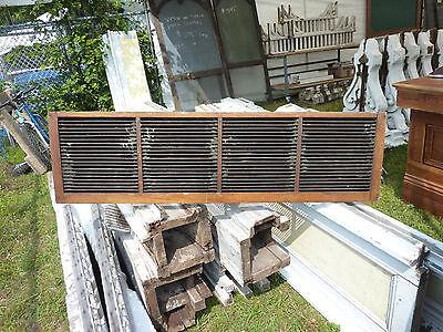 Oak Shutter (Late victorian QUARTERSAWN oak shutter BLIND screen found in Maine 45.5 x 14.5