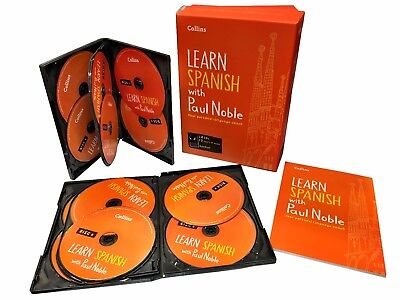 Learn Spanish with Paul Noble Collins 12 CDs, Booklet, Collection Box Set
