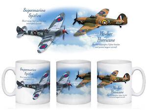 Spitfire & Hurricane Mug - Planes World War 2 Aircraft