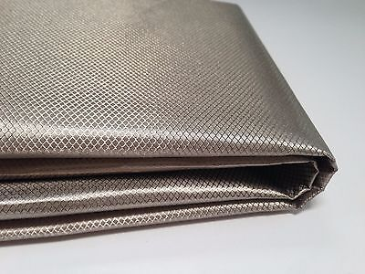 "OurSure Nickel-Copper Conduction Fabric 24"" x 21"" RF/ RFID Blocking"