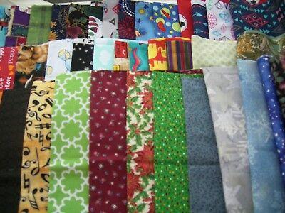Fabric fat quarter bundle  10 FQ  2 1/2 yards random pic grab bag stash builder - Fat Quarter Purse